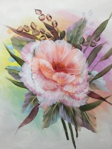 A Majestic Poppy paint nite project by Yaymaker