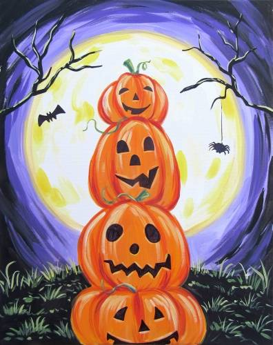 A StackOPumpkins paint nite project by Yaymaker