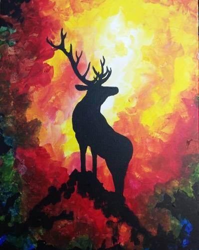 A Elk Ridge paint nite project by Yaymaker