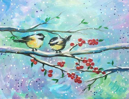 A Happy day paint nite project by Yaymaker