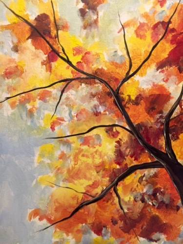 A Simply Autumn paint nite project by Yaymaker