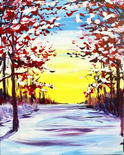 A Early Snow II paint nite project by Yaymaker