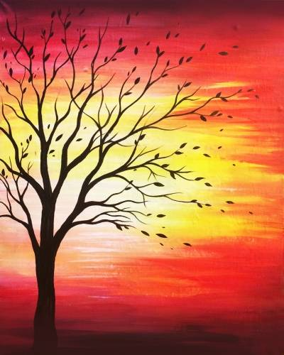 A Waiting for a New Season paint nite project by Yaymaker