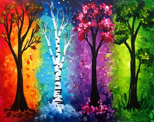 A Seasons II paint nite project by Yaymaker