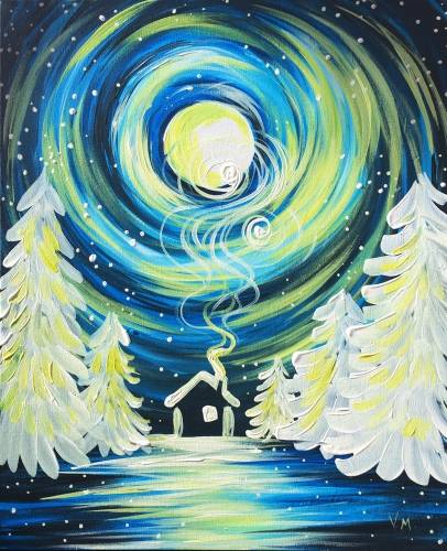 A Magical Night paint nite project by Yaymaker