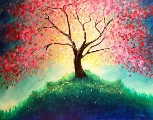 A Enchantment paint nite project by Yaymaker