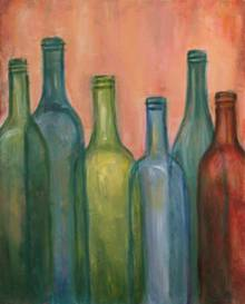 A Bottles 1 paint nite project by Yaymaker