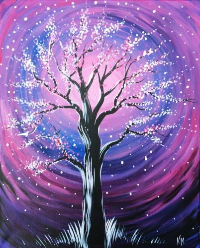 A Purple Wind paint nite project by Yaymaker