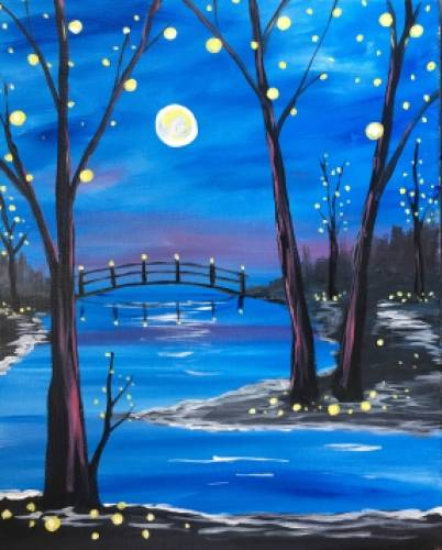 A Fairy Lites paint nite project by Yaymaker