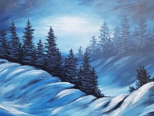 A Falling Silence paint nite project by Yaymaker