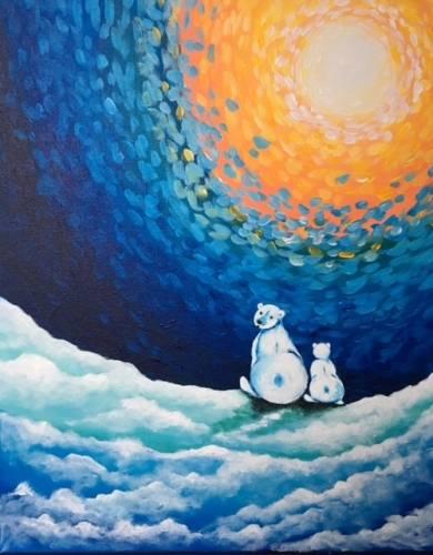 A Polar Daze paint nite project by Yaymaker