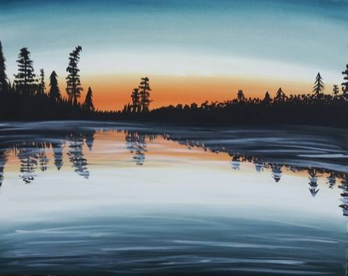 A Holloway Lake paint nite project by Yaymaker
