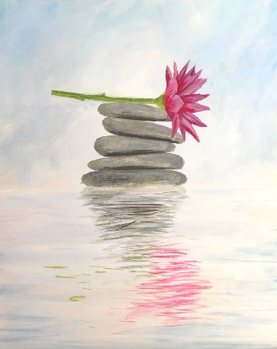 A Zen Again paint nite project by Yaymaker