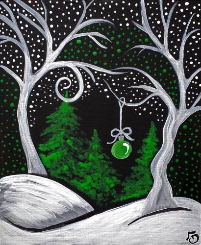 A Whimsical Night paint nite project by Yaymaker