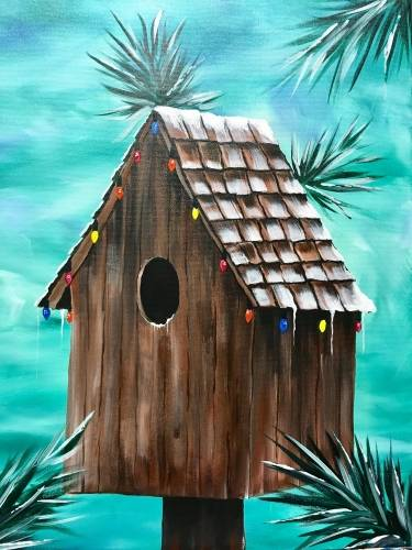 A Winter ReTWEET paint nite project by Yaymaker