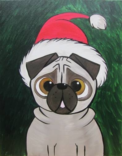 A Bah HumPug paint nite project by Yaymaker
