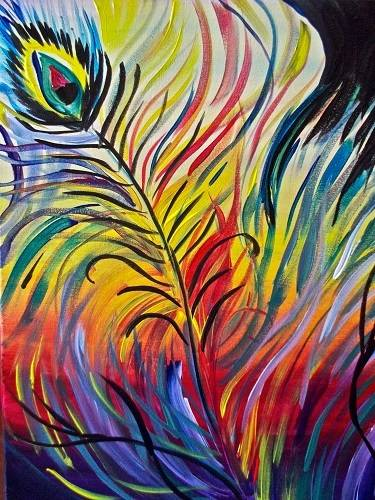 A Birds Of A Feather paint nite project by Yaymaker