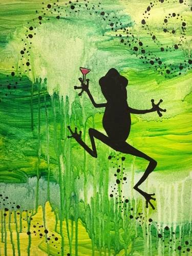 A Tipsy Treefrog paint nite project by Yaymaker
