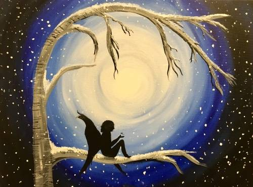 A Fairy Wings and Magical Things paint nite project by Yaymaker