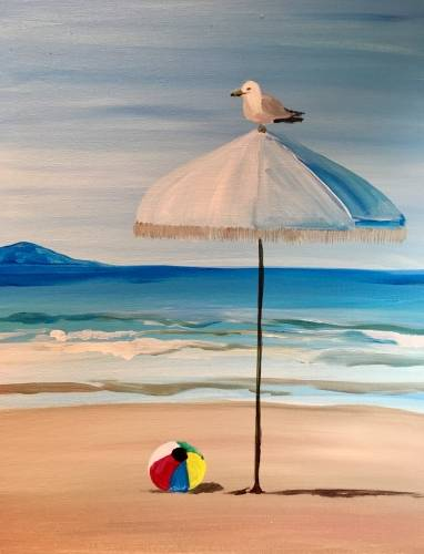 A Under The Umbrella paint nite project by Yaymaker