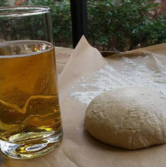 A Beer Pizza Dough experience project by Yaymaker