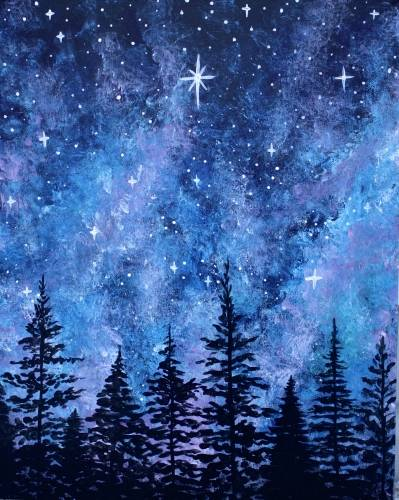 A The North Star II paint nite project by Yaymaker