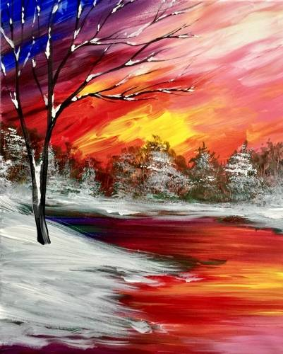 A A Fresh New Beginning paint nite project by Yaymaker