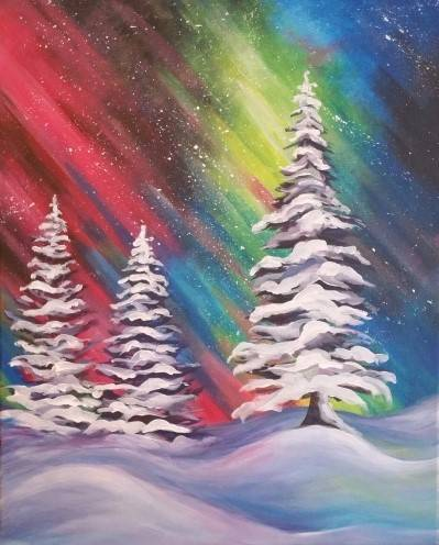 A Northern Beauty paint nite project by Yaymaker