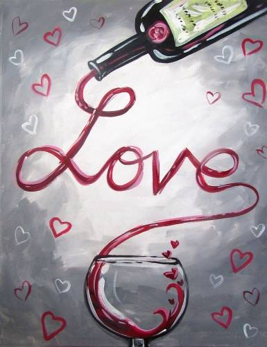 A Have Love paint nite project by Yaymaker