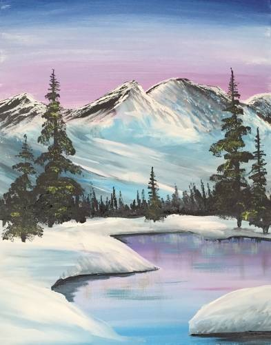A White Mountains paint nite project by Yaymaker
