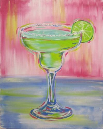 A Bonita Margarita paint nite project by Yaymaker