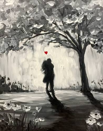 A True Love II paint nite project by Yaymaker
