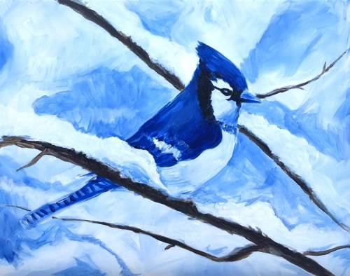 A Winter Jay paint nite project by Yaymaker