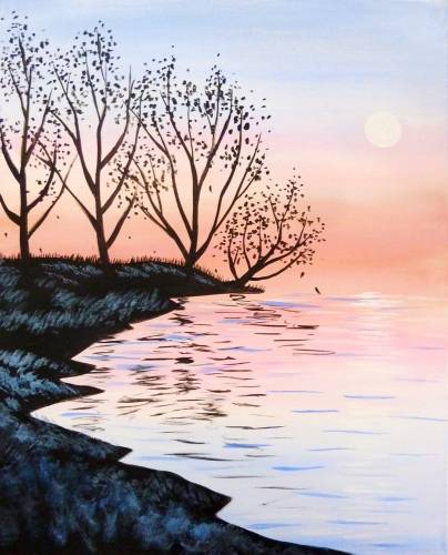 A Hues of Dawn paint nite project by Yaymaker