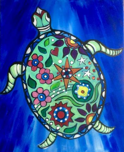 A Turtle II paint nite project by Yaymaker