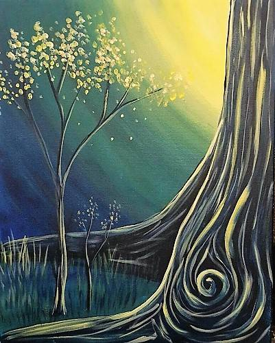 A Emergence paint nite project by Yaymaker