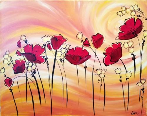 A Poppy Breeze paint nite project by Yaymaker
