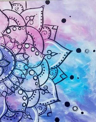 A Spiritual Awakening paint nite project by Yaymaker