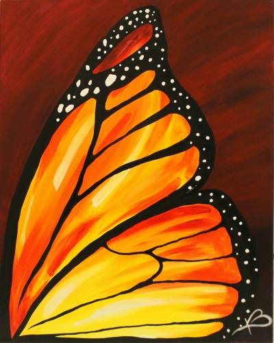 A Monarch paint nite project by Yaymaker