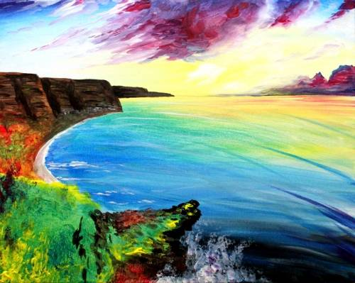 A A Taste of Ireland paint nite project by Yaymaker