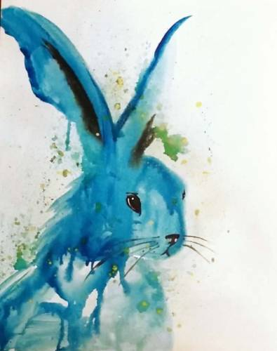 A Water Bunny paint nite project by Yaymaker