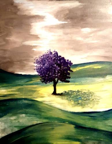 A The Giving Tree paint nite project by Yaymaker
