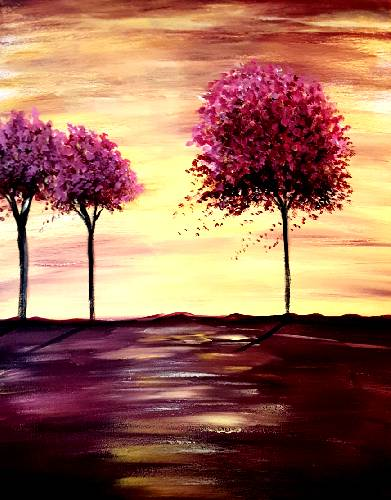 A Yellow Skies II paint nite project by Yaymaker