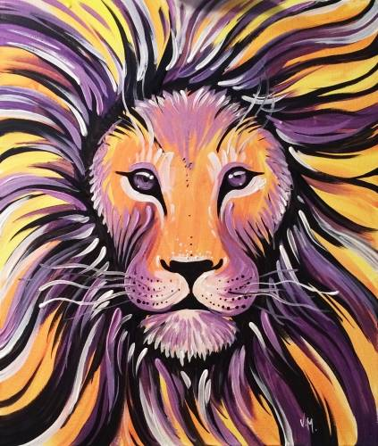 A Majesty paint nite project by Yaymaker