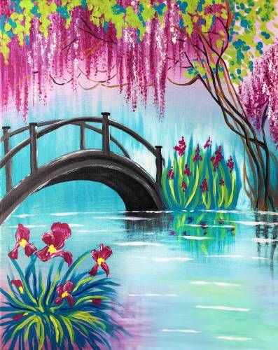 A Spring Bridge paint nite project by Yaymaker