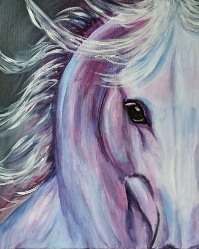 A Beautiful Stallion paint nite project by Yaymaker