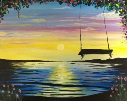 A Swing into Spring paint nite project by Yaymaker