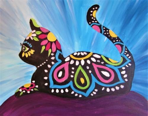 A Illustrated Cat paint nite project by Yaymaker