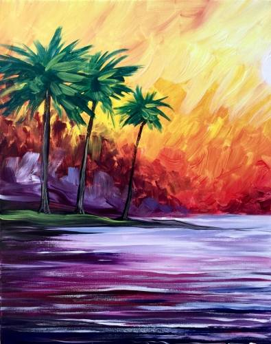 A Mental Vacation paint nite project by Yaymaker