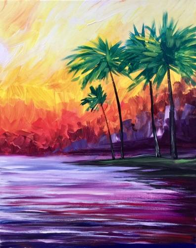 A Mental Vacation II paint nite project by Yaymaker